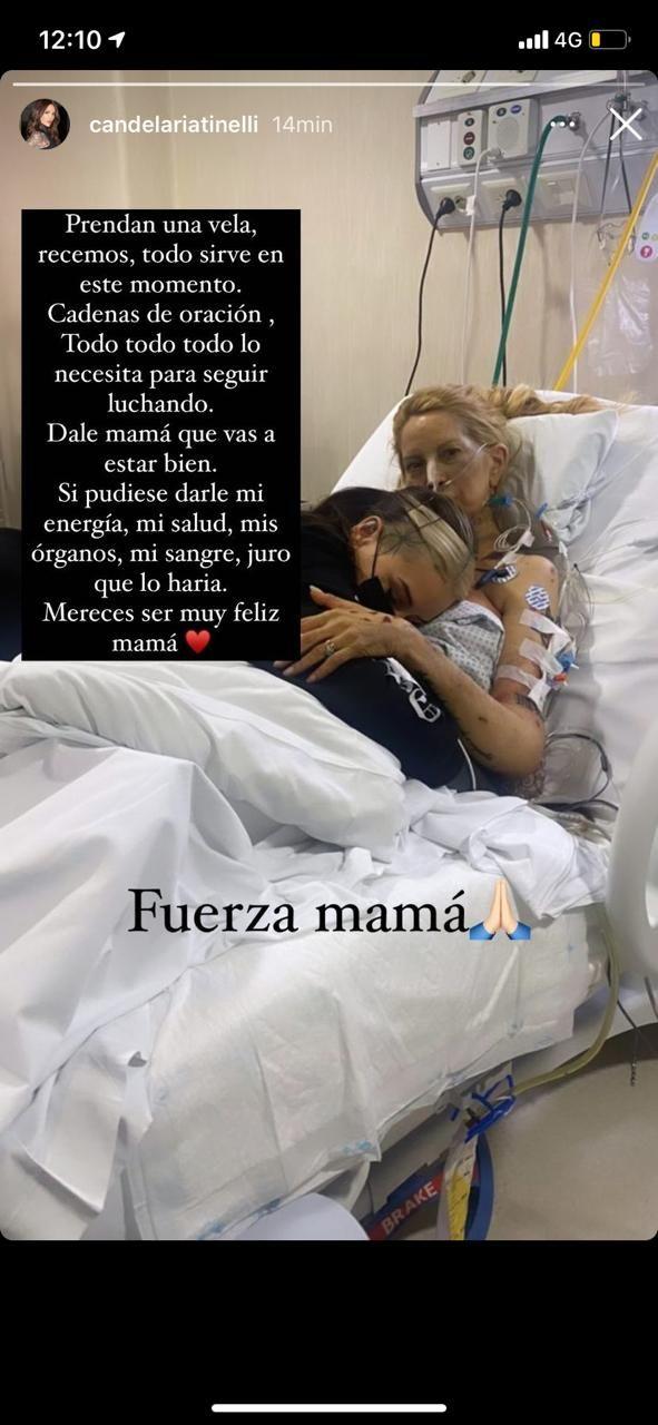 Soledad Aquino fue operada otra vez luego del transplante de hígado