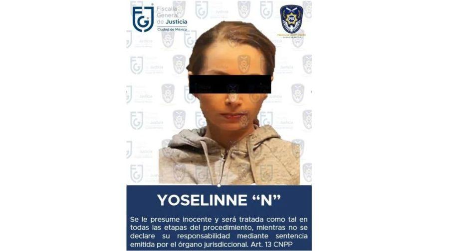 Yoseline Hoffman, YosStop, detenida