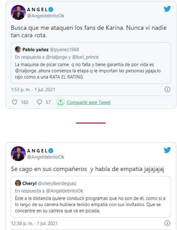 Ángel de Brito disparó sin piedad contra Jorge Rial:
