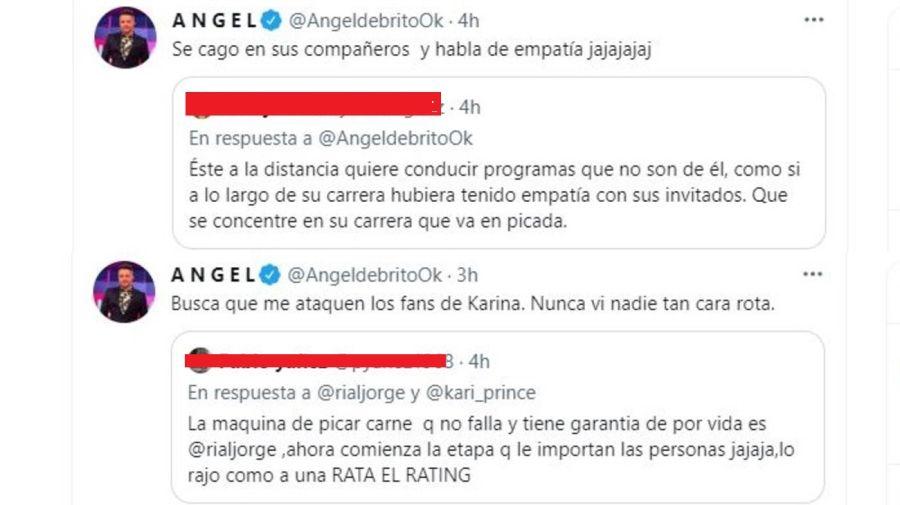 Angel de Brito respuesta a Jorge Rial