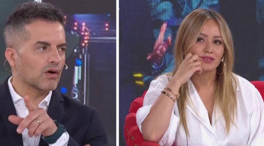 Ángel de Brito se cruzó en vivo con Karina La Princesita y terminó llorando