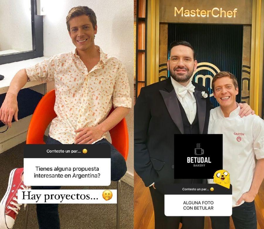 Gastón Dalmau reveló su nuevo proyecto en Argentina