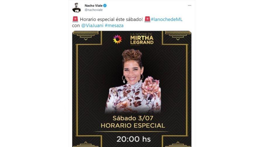 Juana Viale - La noche de Mirtha