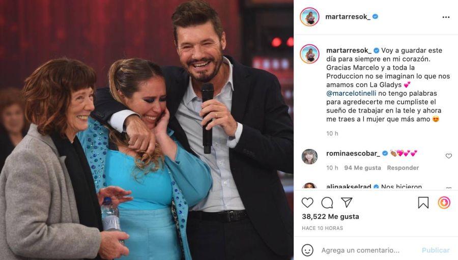 Mar Tarrés rompió en llanto: el particular motivo de sus lágrimas en ShowMatch y la sorpresa de Marcelo Tinelli