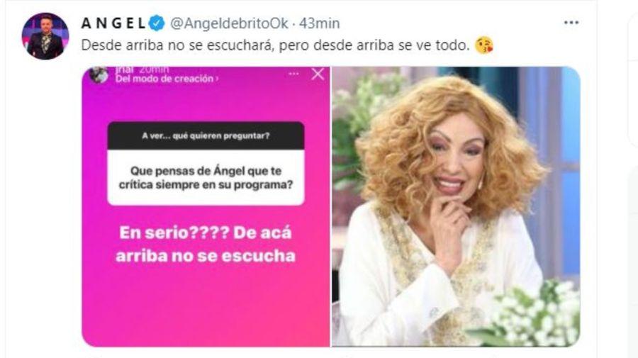 Angel de Brito contra Jorge Rial