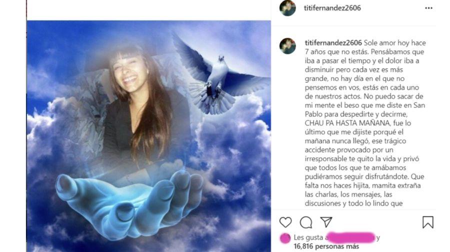 Tití Fernández posteo 0207