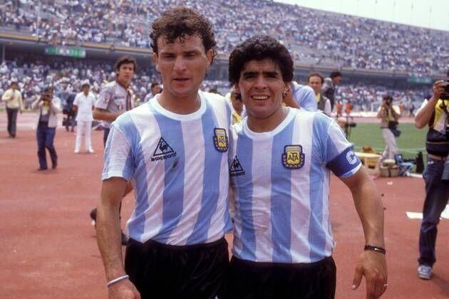 Cuciuffo y Maradona