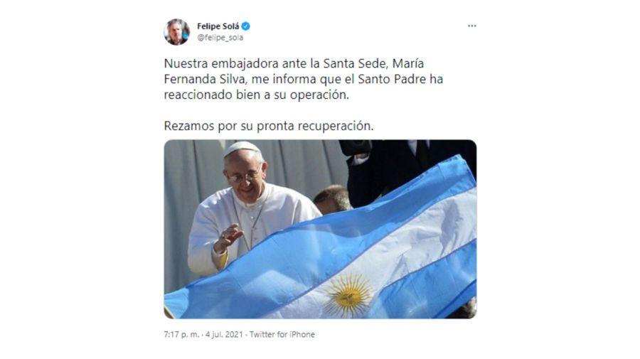 Felipe Sola Tuit