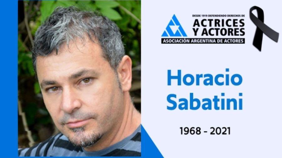 Muere Horacio Sabatini