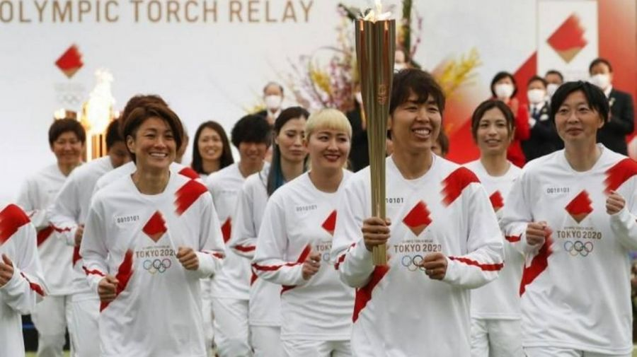 antorcha olimpica tokio 2020 050721