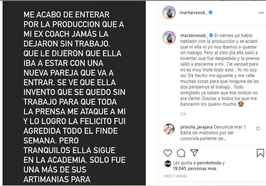 La Academia: Marcelo Tinelli confirmó que Mar Tarrés quiere volver tras su renuncia