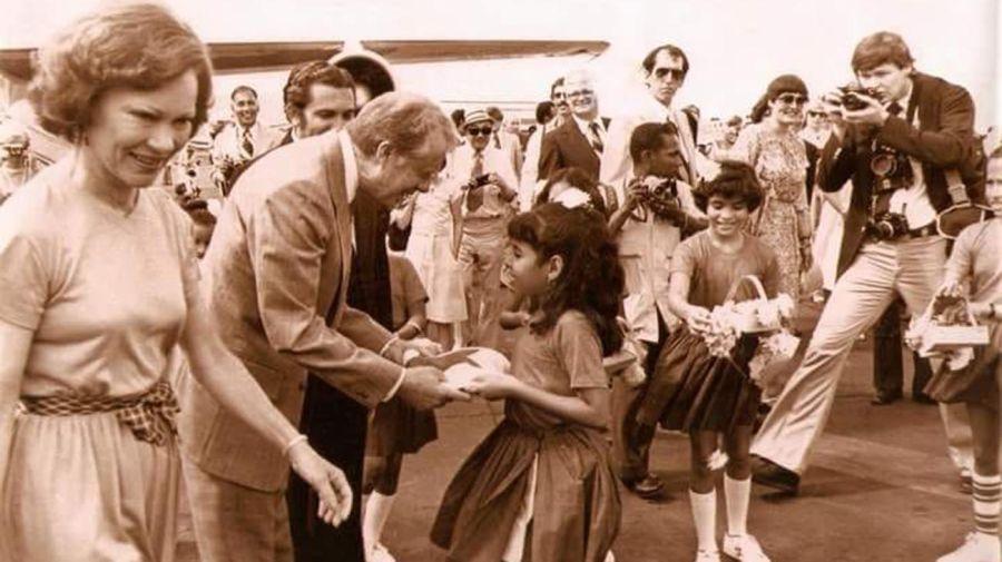 Jimmy Carter y su esposa 20210706