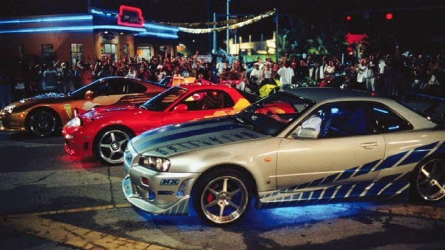 Más Rápido y Más Furioso (autos tuneados)