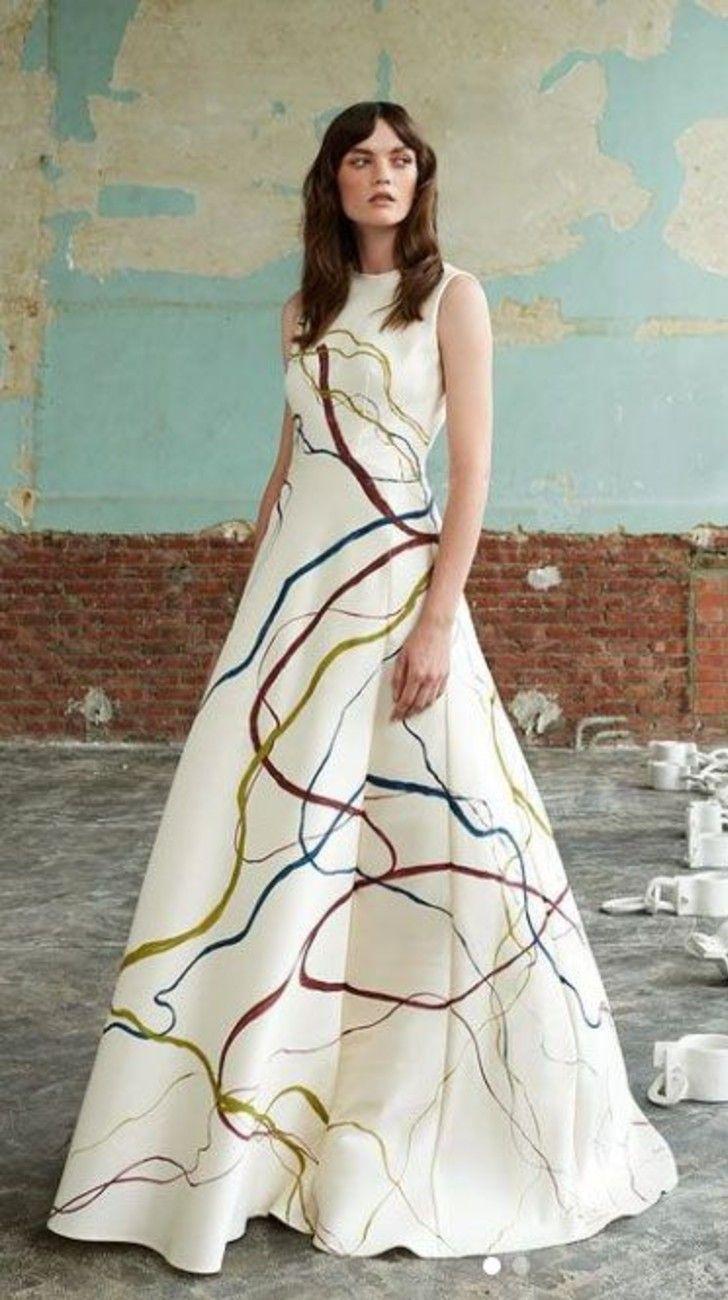 Pablo Piatti, el artista argentino que intervino el vestido que usó Máxima de Holanda