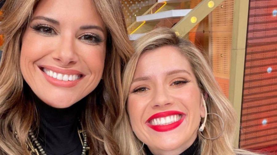 Alessandra Rampolla y Laurita Fernández
