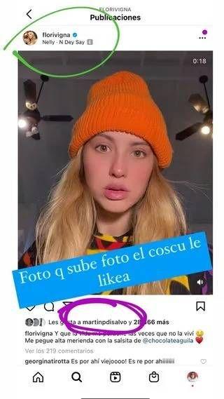 El nuevo romance de Flor Vigna