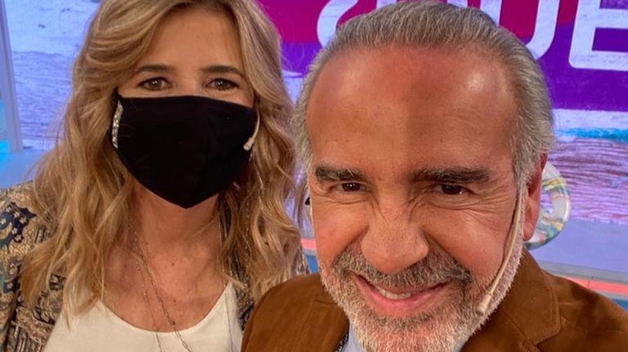 Mercedes Ninci y el Dr. Guillermo Capuya 0707