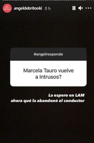 Picantísimo posteo de Ángel de Brito contra Alejandro Fantino por Marcela Tauro
