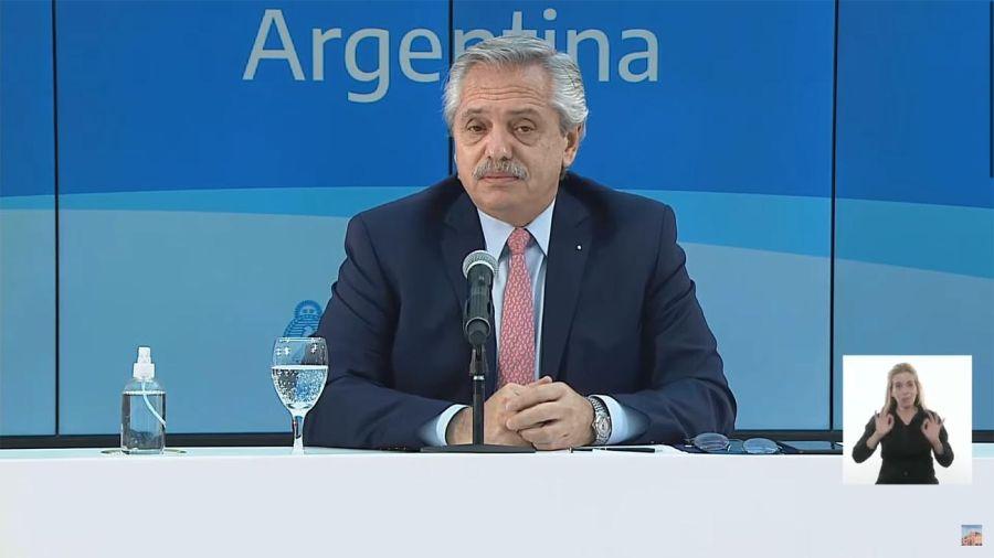 Alberto Fernández Mercosur 20210708