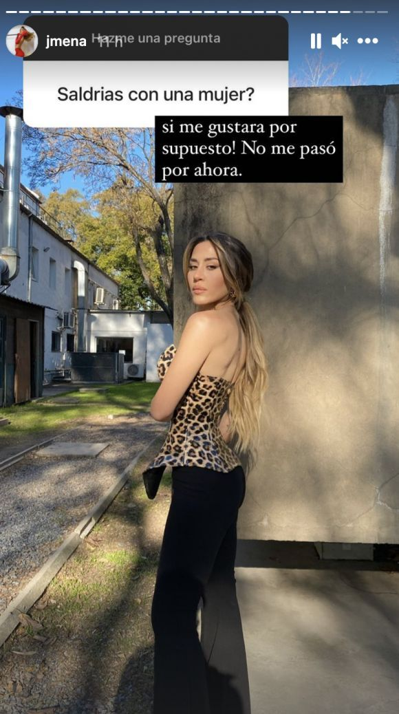Jimena Barón habló salir con una mujer: