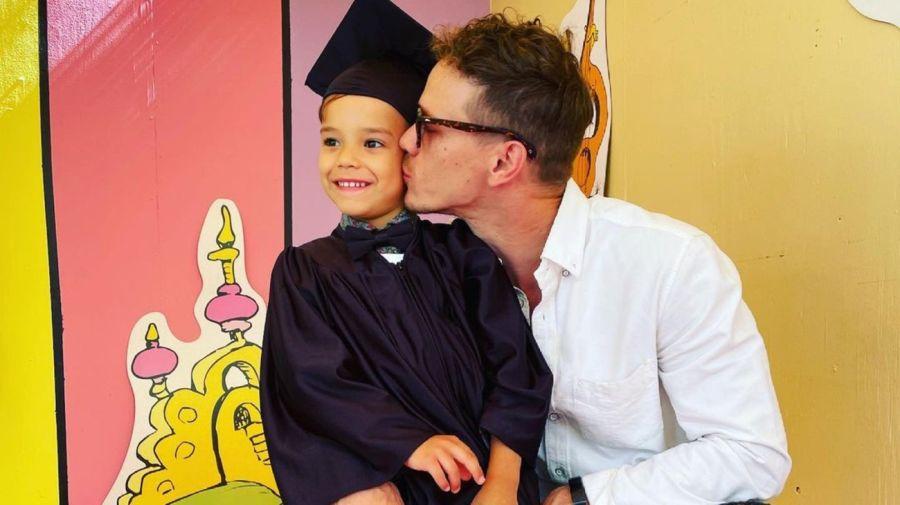 Josey Hollis Dorsey y su padre Ryan Dorsey