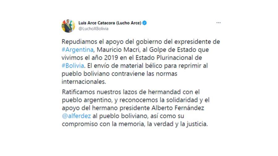 Luis Arce Tuit