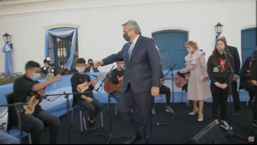 El presidente Alberto Fernández encabeza el acto por el Día de la Independencia 20210709