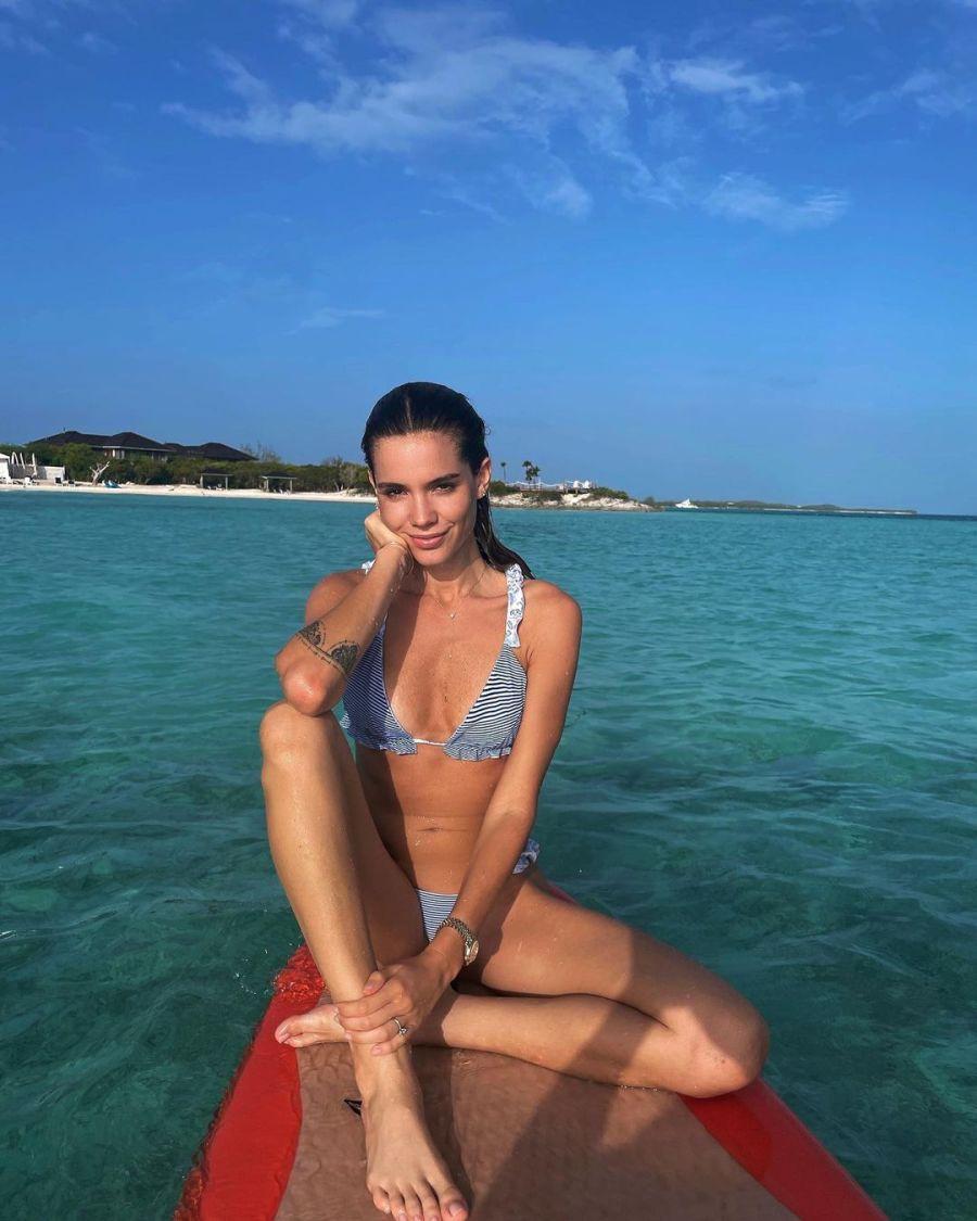 Las fotos de las paradisíacas vacaciones en Bahamas de Pico Mónaco y Diana Arnopoulos