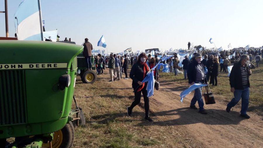Movilización agropecuaria en San Nicolás 20210709