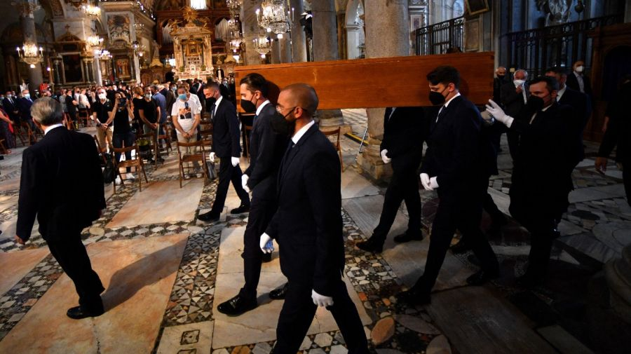 Raffaella Carra funeral