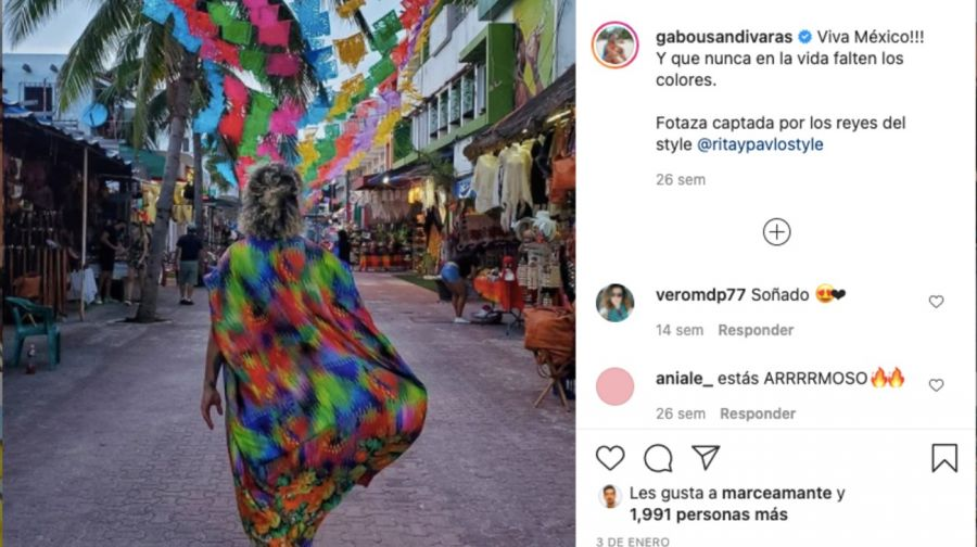 Gabo Usandivaras dejó todo para iniciar una nueva vida en México