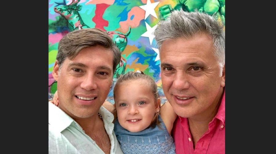 Andres Galfrascoli, Fabian Nuñez y Sofia