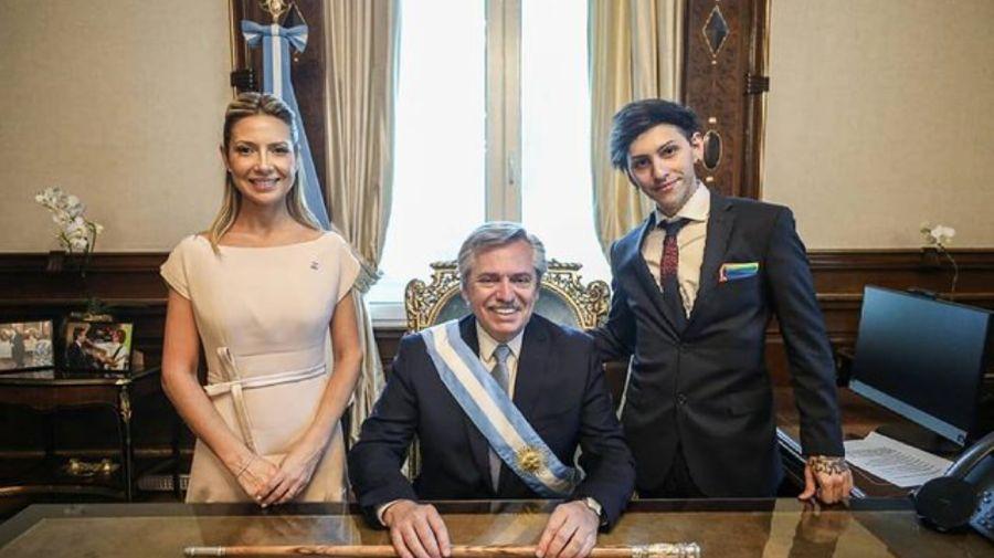 Alberto Fernandez Fabiola Yañez Estanislao Fernandez familia presidencial g_20210712