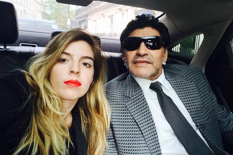 Dalma Maradona en LAM: