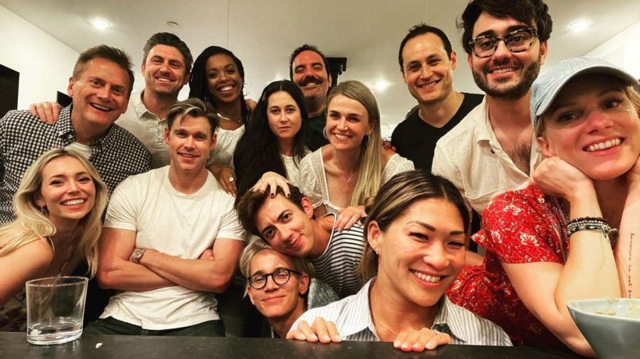 Elenco e integrantes de produccion de Glee