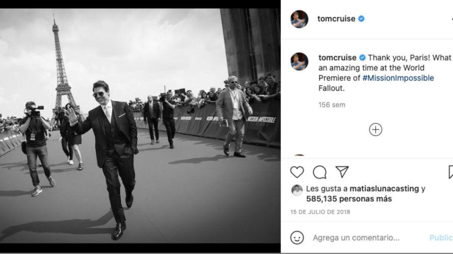 Las fotos que confirman la relación entre TomCruisey la actriz británica HayleyAtwell