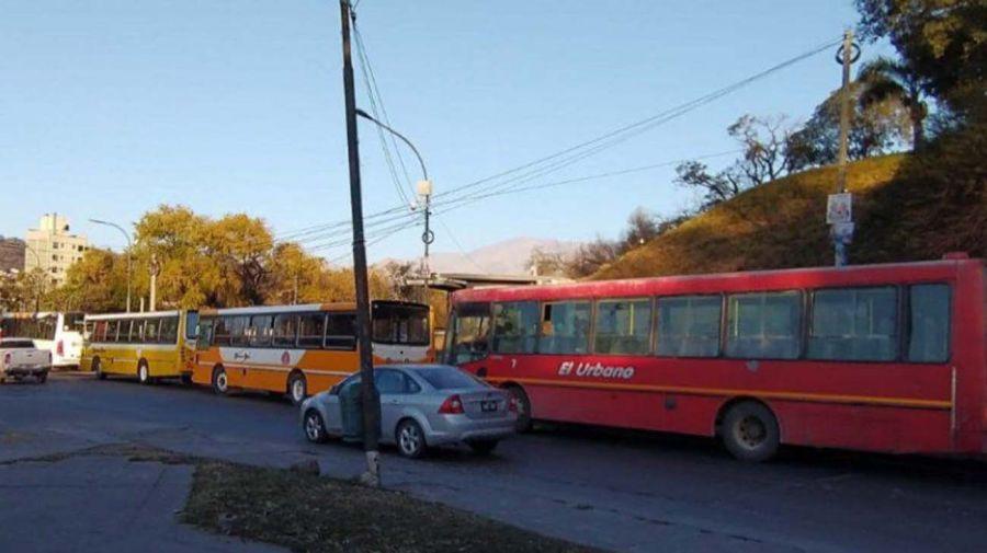 paro de colectivos en Jujuy 20210712