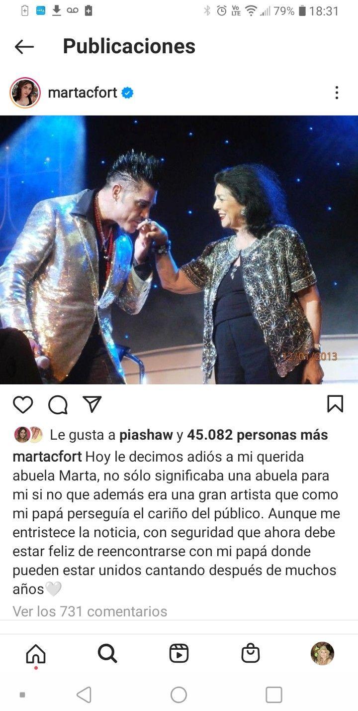Adoración. Eso sentía Ricardo por su madre, de quien seguramente haya heredado su amor por el canto y el arte en general.