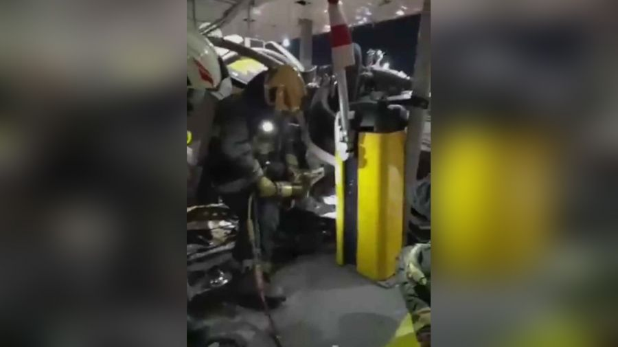 Choque fatal en Retiro 20210713