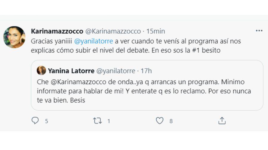 Karina Mazzocco tuit 1307