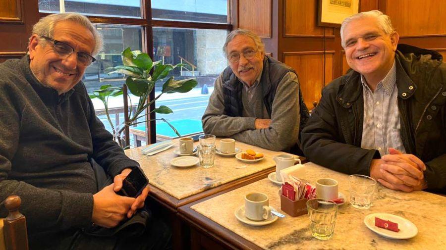 López Murphy con Brandoni y Suarez Lastra-20210713
