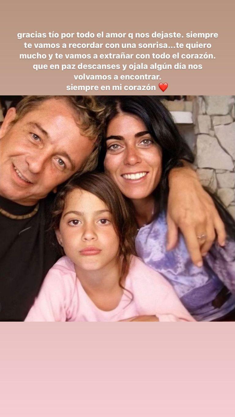 """El doloroso momento de Tini Stoessel: """"Siempre te vamos a recordar"""""""