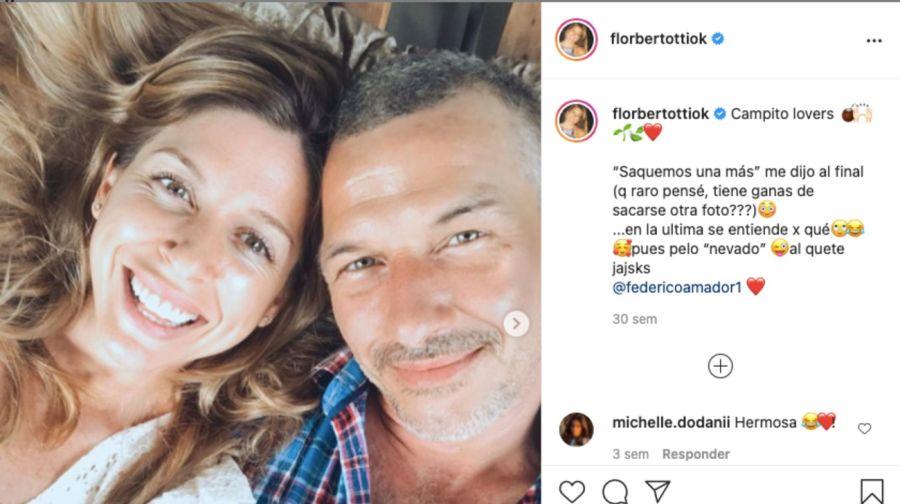 En el cumpleaños de su hijo Romeo, FlorenciaBertotticompartió una foto retro