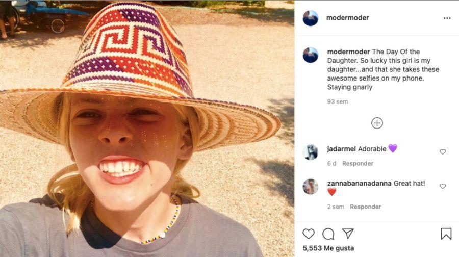 HazelModer: Así lucela hija de Julia Roberts