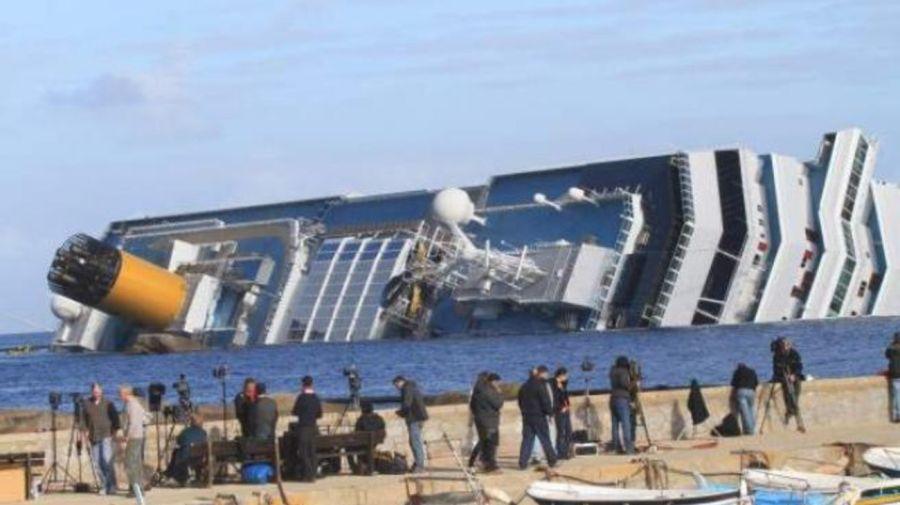 Naufragio el crucero Costa Concordia