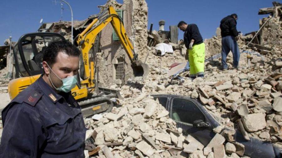 Terremoto en L'Aquila