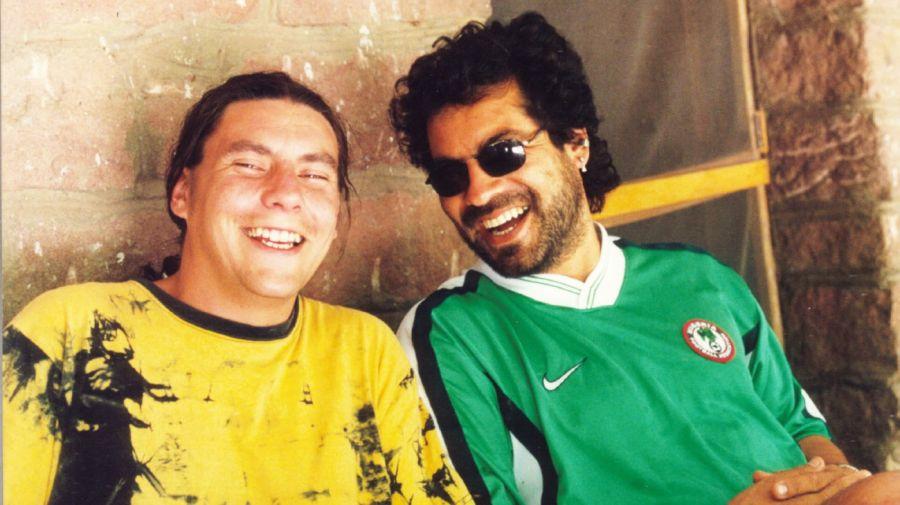 Emiliano Chavero y Victor Pintos