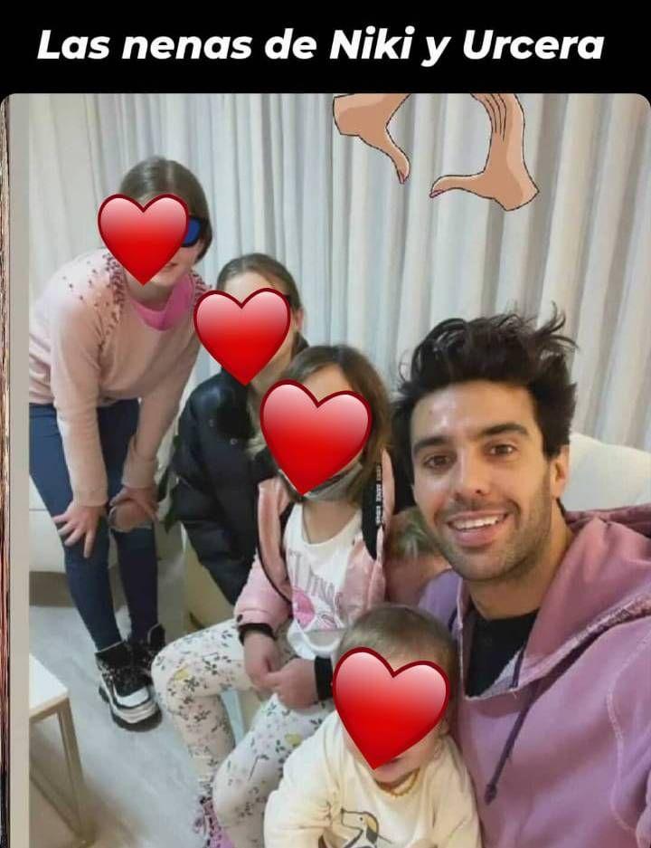 Nicole Neumann, enamorada: la primera foto de su novio con sus hijas
