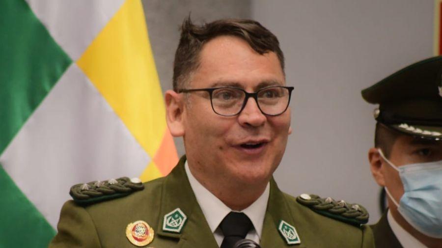 Policía Bolivia Armas