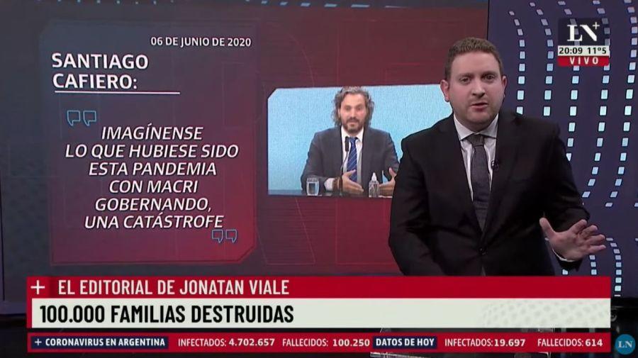 Cafiero contra Macri